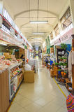 Municipal market known as Shangri-la in Londrina city. Londrina, Brazil - July 26, 2017: Municipal market known as Shangri-la in Londrina city. Popular market Royalty Free Stock Photo
