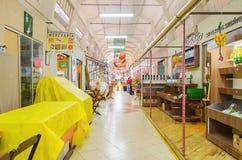 Municipal market known as Shangri-la in Londrina city. Londrina, Brazil - July 26, 2017: Municipal market known as Shangri-la in Londrina city. Popular market Royalty Free Stock Image