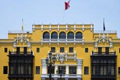 Municipal palace of Lima Royalty Free Stock Photography