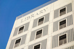 Municipal public library (Stadtbibliothek) of Stuttgart Royalty Free Stock Photos