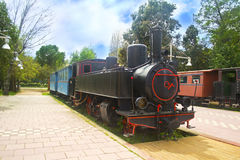 Municipal railway park Kalamata Greece Stock Image