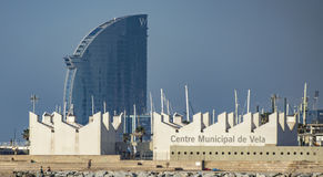 Municipal Sailing Centre in Barcelona Stock Images