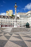 Municipal Square in Lisbon Royalty Free Stock Images