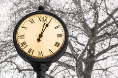 Old style clock Stock Photography