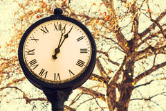 Old style clock Royalty Free Stock Image