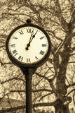 Old style clock Royalty Free Stock Photography