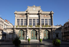Municipal Theatre in Beziers, France Royalty Free Stock Photos