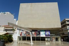 Municipal Theatre in Torrevieja Stock Photos