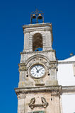 Municipal tower. Martina Franca. Puglia. Italy. Royalty Free Stock Photo