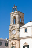 Municipal tower. Martina Franca. Puglia. Italy. Royalty Free Stock Images