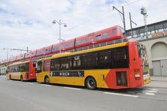Municipal transportation Stock Photo