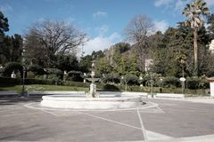 Municipal villa of chieti. In abruzzo Stock Photos