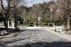 Municipal villa of chieti. In abruzzo Stock Image
