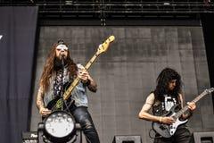 Municipal Waste metal band live 2016 Stock Photo