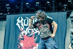 Municipal Waste metal band live 2016 Stock Photos