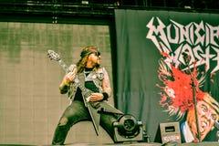 Municipal Waste metal band live 2016 Stock Image