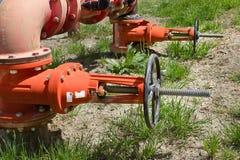 Municipal Water System Stock Photo