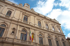 Municipality of Caltagirone Stock Image