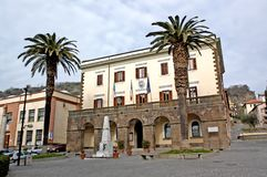 Municipality and Civic Museum of Trevignano. Trevignano Romano is an Italian municipality of 5,685 inhabitants [1] of the metropolitan city of Rome Capital Royalty Free Stock Image