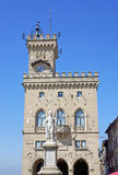The municipality of the Republic of San Marino Royalty Free Stock Image