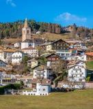 San Genesio, idyllic village near Bolzano. Trentino Alto Adige, Italy. The municipality of S. Genesio is located high above the provincial capital of Bolzano stock images