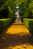 Fountain in the gardens of Queluz National Palace Royalty Free Stock Photo