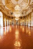 The Ballroom of Queluz National Palace Royalty Free Stock Photo