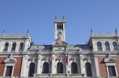 Municipality of Valladolid, Spain Royalty Free Stock Photography