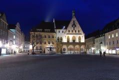 Municipio in Amberg Fotografia Stock
