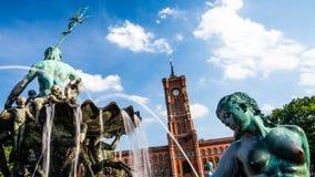 Municipio Berlino Fotografie Stock