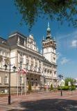 Municipio in Bielsko-Biala, Polonia Immagini Stock