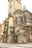 Municipio su una zona a Praga Immagine Stock