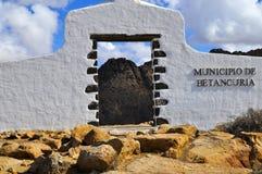 Municipio de Betancuria, Канарские островы, Фуэртевентура Стоковые Изображения RF