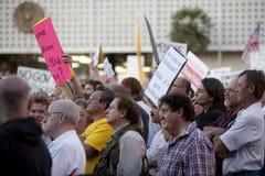 Municipio di Alhambra sulla riforma di sanità Immagine Stock Libera da Diritti