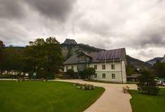 Municipio di Altaussee, Austria Fotografia Stock