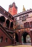 Municipio di Basilea Fotografia Stock