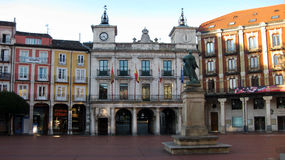 Municipio di Burgos, fotografia stock