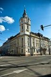 Municipio di Cluj Napoca Fotografia Stock
