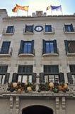 Municipio di Girona fotografia stock libera da diritti