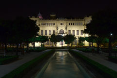 Municipio di Malaga Fotografia Stock Libera da Diritti