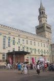 Municipio di Opole, Polonia Fotografie Stock