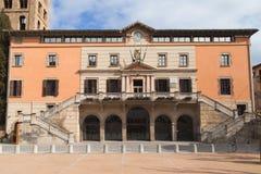 Municipio di Ripoll Immagine Stock