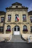 Municipio di Sainte Mère Eglise Fotografia Stock