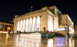 Municipio di Sheffield Fotografie Stock Libere da Diritti