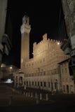 Municipio di Siena Fotografia Stock