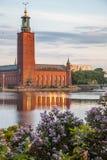 Municipio di Stoccolma Immagini Stock Libere da Diritti