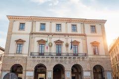 Municipio di Tolentino - l'Italia Immagine Stock Libera da Diritti