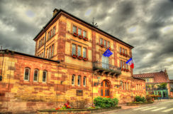 Municipio di Wasselonne - Bas-Rhin, Francia immagini stock libere da diritti