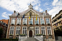 Municipio, Hasselt Immagine Stock Libera da Diritti