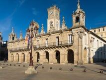 Municipio a Lugo Immagine Stock